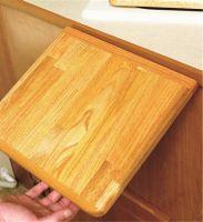 Hardwood Counter Top Extension