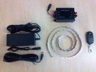 DOMETIC LED WHITE STRIP LIGHT KIT WITH REMOTE AND DIMMER