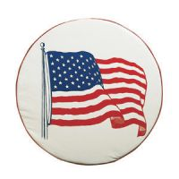 Tire Cover Flag