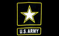 US Army Flag - gold star